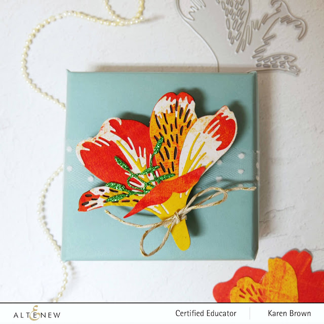 Altenew Craft A Flower Peruivan Lily.