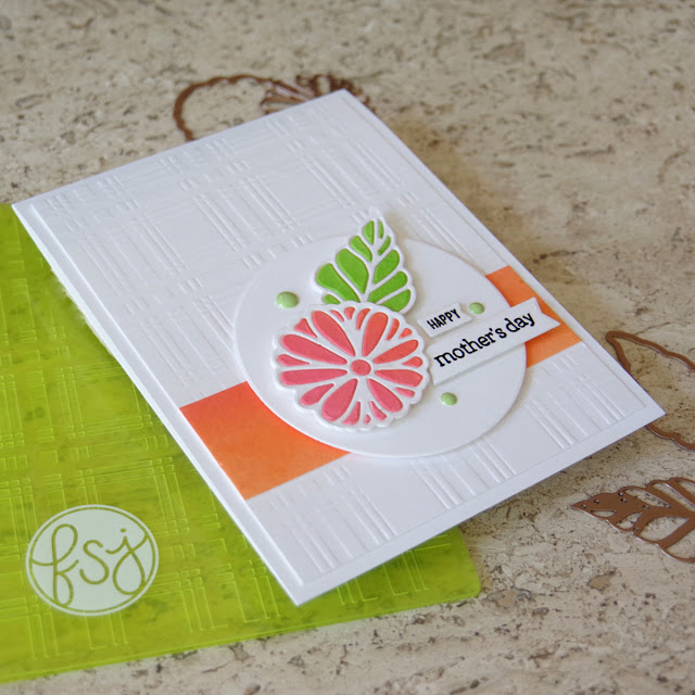 Papercraft Floral Inlay Diecutting Technique