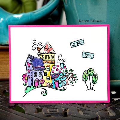 Handmade Welcome Home card