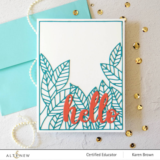 Turqouise and Melon cardstock