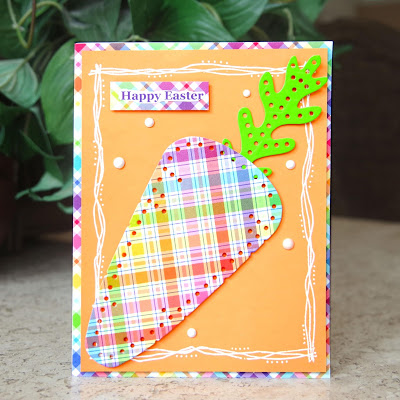 Lawn Fawn\'s Perfectly Plaid designer paper.