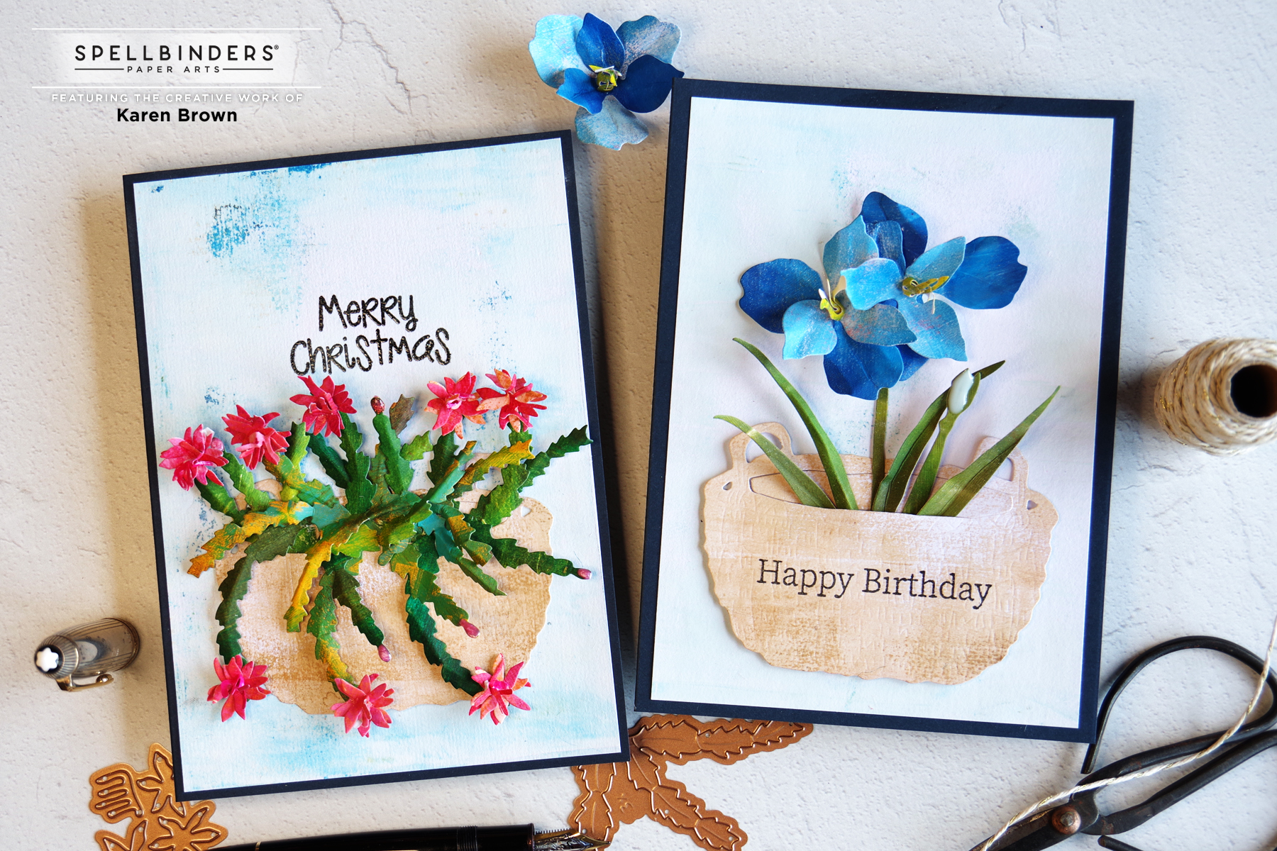 Spellbinders Holiday Flora Collection