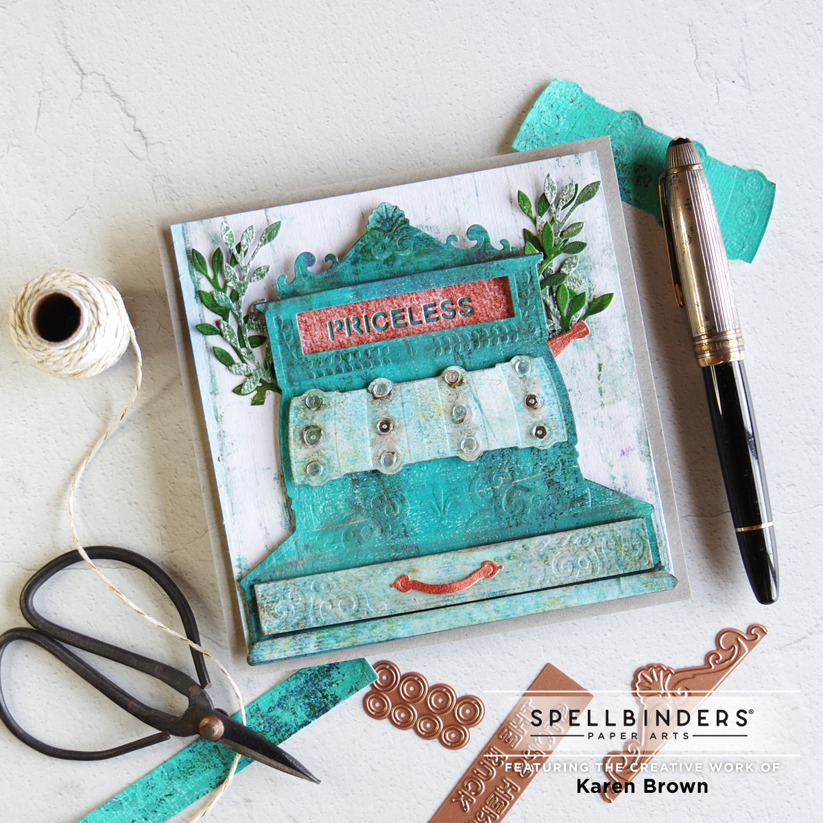 Amazing Paper Grace 2021 September Die of the Month Kit